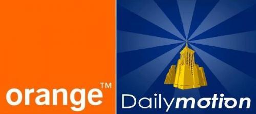 orange et Dailymotion