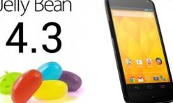 Android 4.3 sur Nexus 4