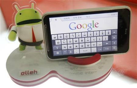 Android smartphone google
