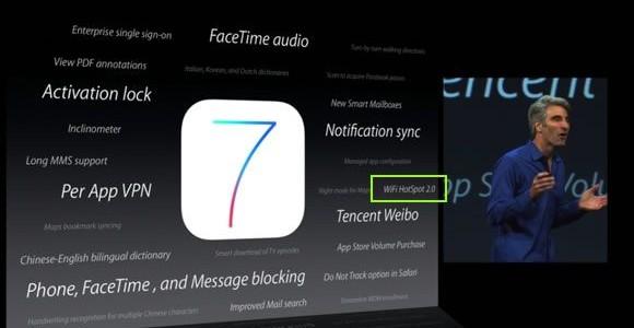 Les Apports d'iOS7