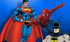 Batman Superman Spiderman
