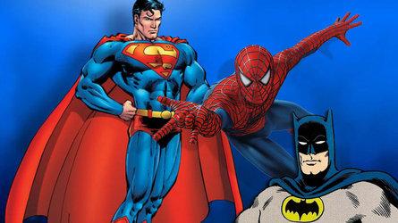 Batman Superman Spiderman