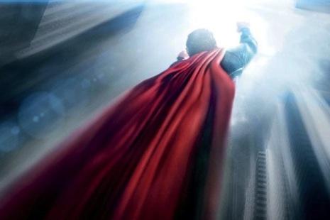 Flying Man superman