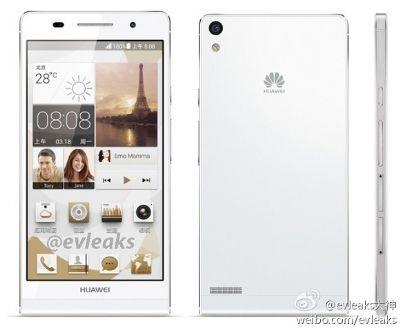 Huawei Ascend P6 presenté
