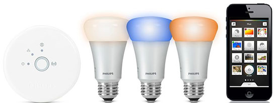 Lampes Hue de Philips
