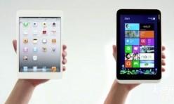 Ipad mini et Iconia W3 Acer