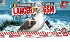 Lancer du GSM Belgique