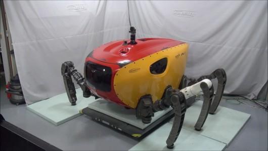 Le robot Crabster