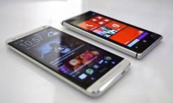 Nokia Lumia 925 et iphone