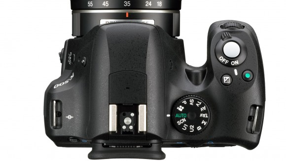 Le Pentax K500