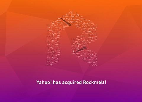 Rockmelt racheté par Yahoo