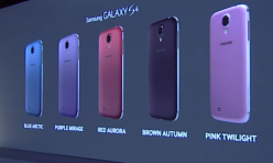 Samsung Galaxy S4 en couleurs