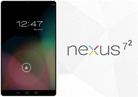 Sortie de la Nexus 7.2