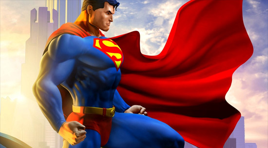 Super hero Superman