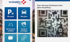 Vinci Park Nouvelle Application