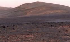 Vue Panoramique planète Mars
