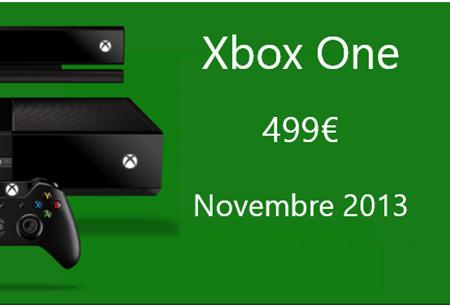 Xbox One à 499 euros