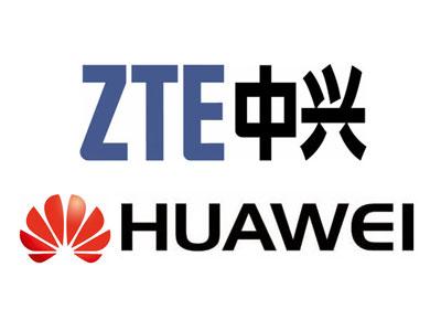 ZTE Huawei chinois