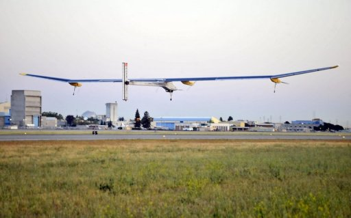 avion à Energie solaire par Solar Impulse