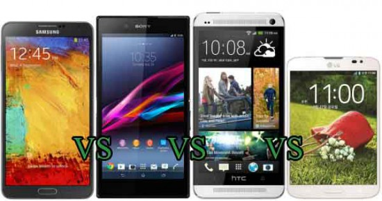 galaxy note 3 sony htc lg phablets