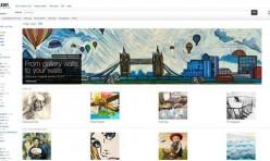 e-galerie d'art Amazon
