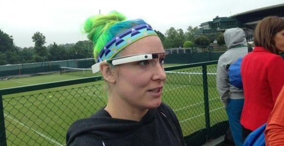 google glass à Wimbledon
