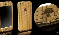iPhone5 en Or et Diamant