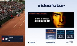 Interface BOX Videofutur