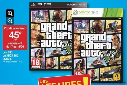 jeu video gta 5 ps3