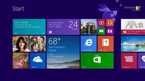 nouvelles applications Windows 8.1