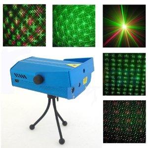projecteur de lumière laser vert rouge