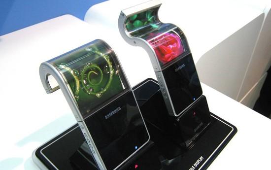 Samsung écran souple galaxy