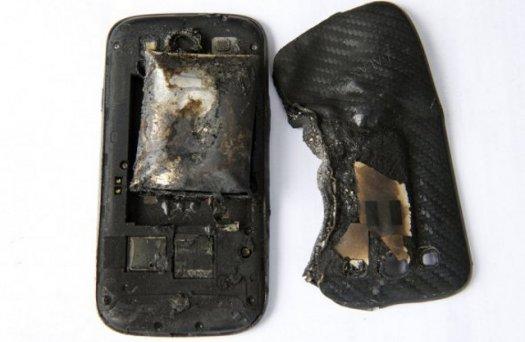 samsung phone explosion