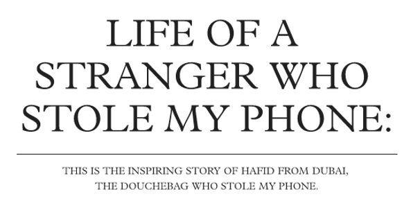 voleur smartphone sur Tumblr